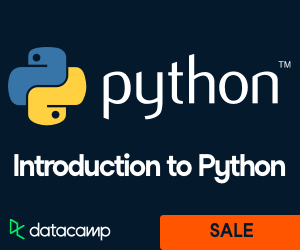 DataCamp - Intro to Python and Data Science - Sale
