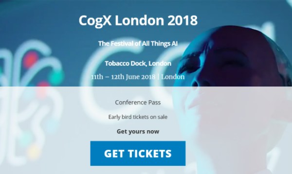 CogX London 2018, The Festival of all things AI, exclusive Discount