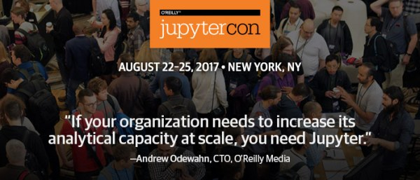JupyterCon, New York City, August 22-25, 2017