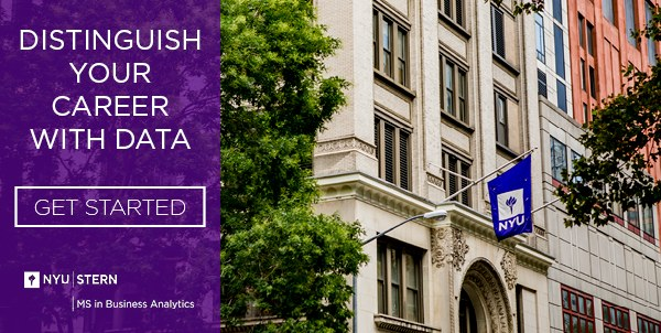 MS in Business Analytics from NYU Stern – Advance your career