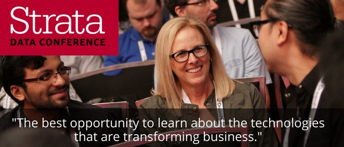 Strata London: Learn about all things data. Offer ends Apr 7