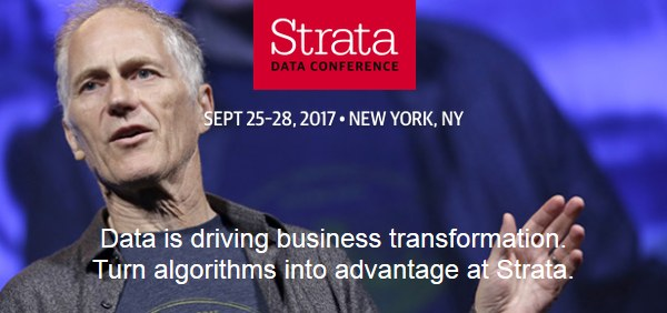 Strata Data Conference, the reunion of data brain trust – Offer