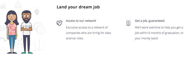 Springboard: Data Science Job, Guaranteed