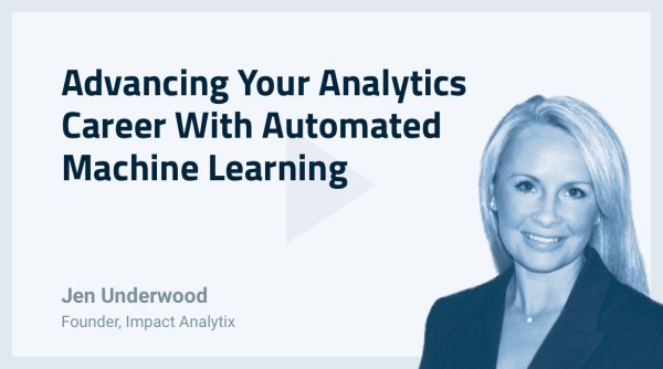 Advancing Your Analytics Career