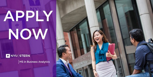 NYU Stern MS in Business Analytics