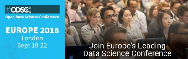 Europe Data Science Conference – Offer – ends Fri, 8 June