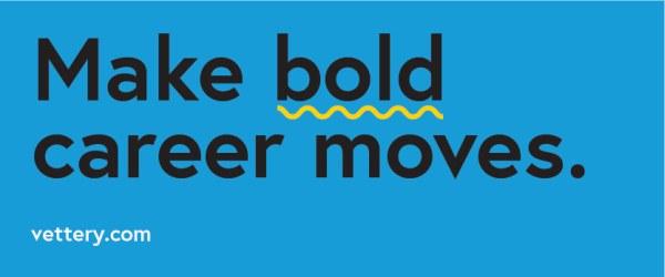 Vettery - Make bold career moves