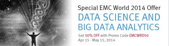 Special EMC World 2014 Offer