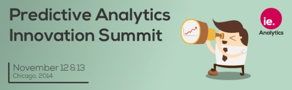 Predictive Analytics Innovation Summit, Chicago, Nov 12-13
