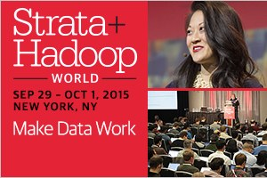 Strata + Hadoop World, New York City, 2015