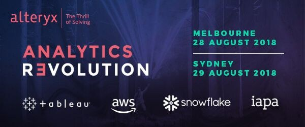 AI and ML Day in Australia with Alteryx, Tableau, Amazon, Snowflake