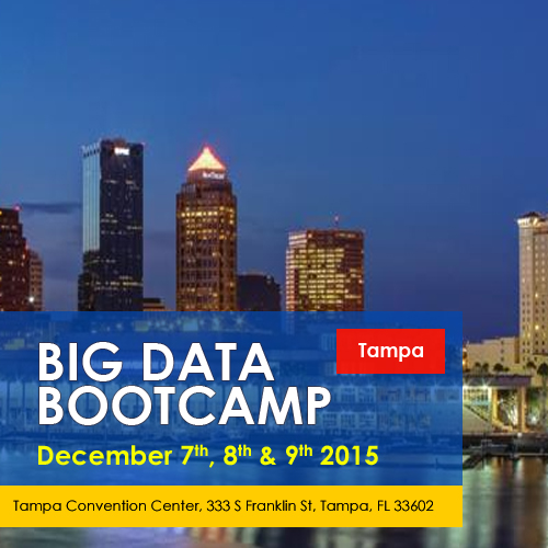 Big Data Bootcamp Tampa Dec 2015