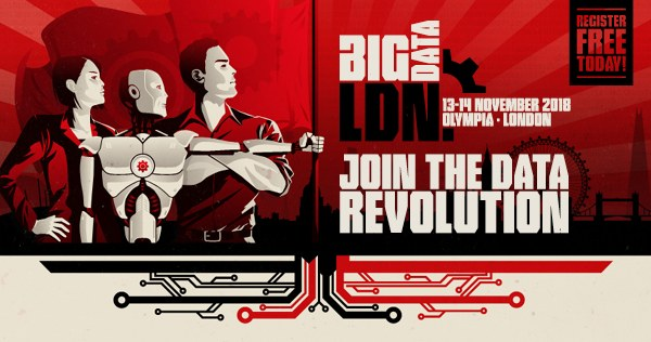 Don't miss Big Data LDN 2018, 13-14 November