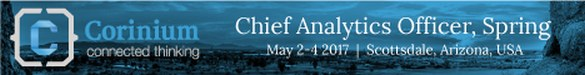 Chief Analytics Officer Spring, Scottsdale, AZ, May 2-4 2017 – Offer