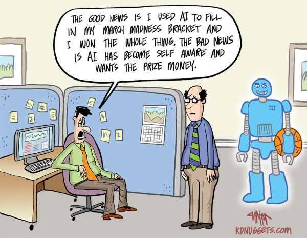 Cartoon: AI Masters the March Madness