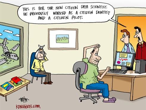 Citizen Data Scientist At Work