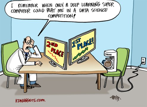 I remember when only Deep Learning could beat me in a Data Science competition