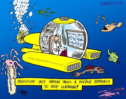Deep Learning Cartoon