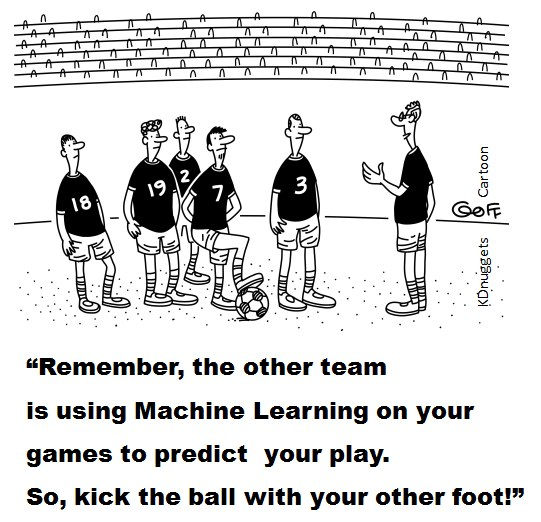 Cartoon: Football World Cup and Machine Learning