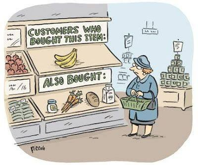 Cartoon Happy Data Scientist: Customers who bought this item also bought