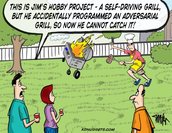 Self-Driving Grill
