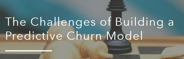 Challenges Predictive Churn Model