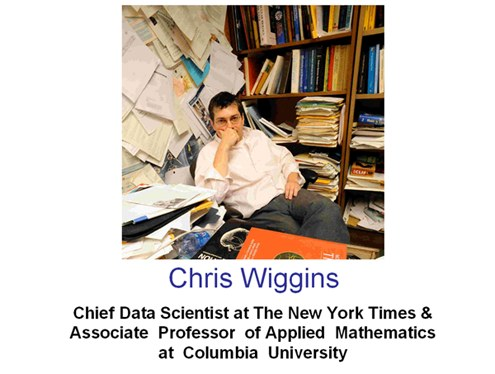 Chris Wiggins at Columbia
