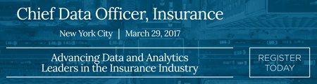 Want to know what to expect from Chief Data Officer, Insurance 2017?