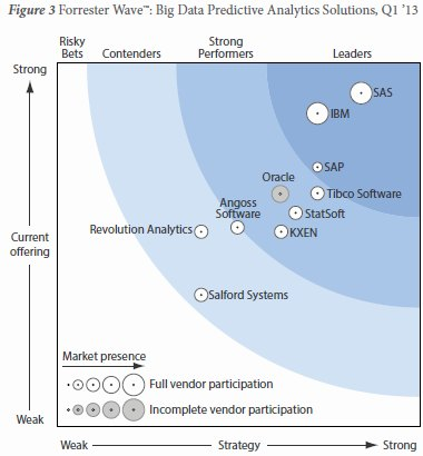 Forrester Wave: Big Data Predictive Analytics Solutions, Q1 2013