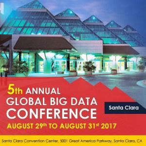 Global Big Data Conference, Santa Clara, Aug 29-31 – Offer