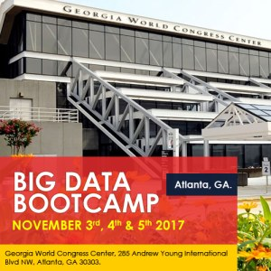 Big Data Bootcamp, Atlanta, Nov 3-5