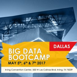 Big Data Bootcamp, Irving (Dallas area), May 5-7