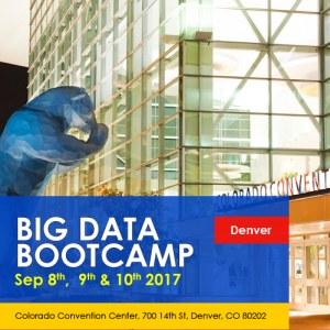 Big Data Bootcamp, Denver, Sep 8-10