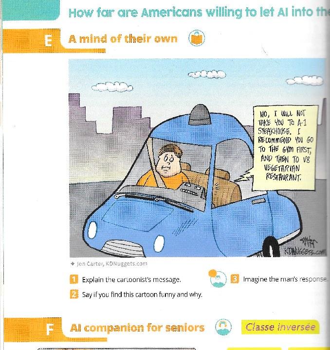 Hatier Cartoon Self Driving