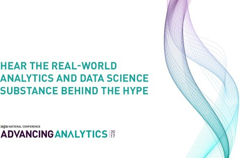 Advancing Analytics, Melbourne, Oct 18: real-world analytics, data science substance behind the hype