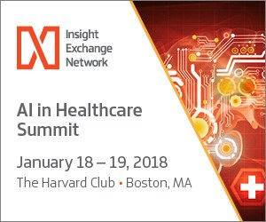 AI in Healthcare Summit, January 18-19, Boston