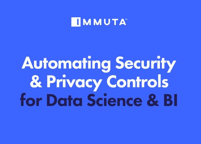 Immuta Automate Security