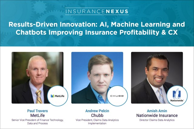 Webinar: AI, Machine Learning and Chatbots Improving Insurance Profitability & CX, Feb 15