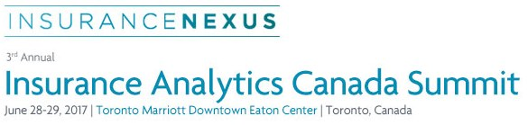 Join 350+ Insurance executives at Insurance Analytics Canada