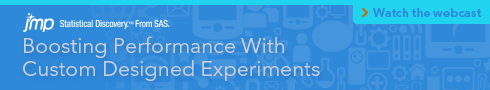 Boosting Performance With Custom Designed Experiments. Watch the Webcast.