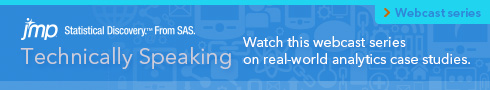 Technically Speaking. Watch this webcast series on real-world analytics case studies.