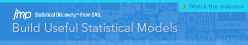 Build Useful Statistical Models. Watch the Webcast.