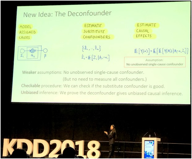 Key Takeaways from KDD 2018: a Deconfounder, Machine Learning at Pinterest, Knowledge Graph