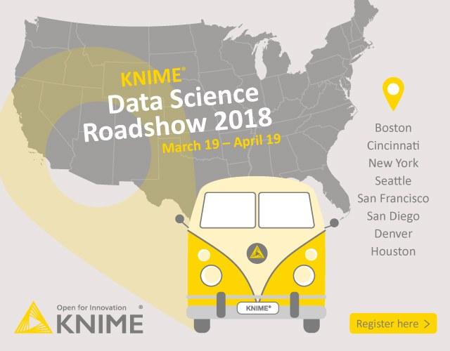 KNIME US Data Science Roadshow 2018