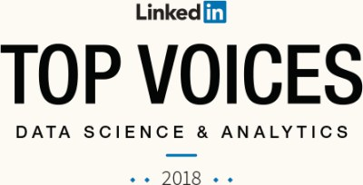 Linkedin Top Voices Data Science and Analytics 2018