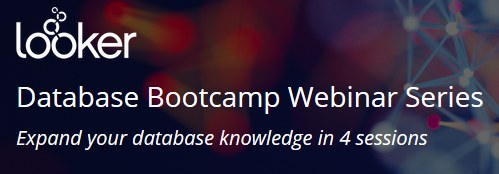 Database Bootcamp Webinar Series, Dec 5, 7, 12, 14