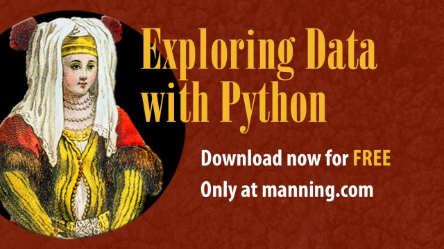 Free ebook: Exploring Data with Python