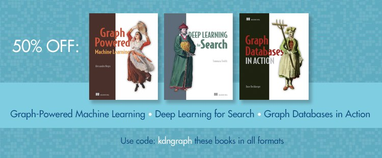 Manning Machine Learning books 50 percent off