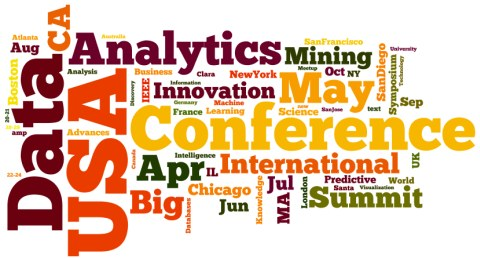 Word cloud for Meetings in Analytics, Big Data, Data Mining, Data Science, Apr-Oct 2015