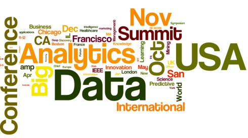 Word cloud for Meetings in Analytics, Big Data, Data Mining, Data Science, Oct 2015 - May 2016